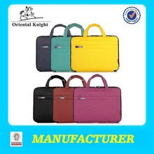 colorful nylon waterproof computer bag, lightweight computer bag