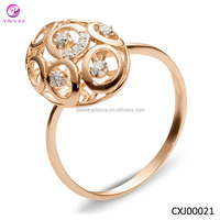 Unique design The latest Gold ring designs for women