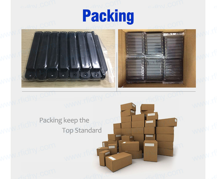 Reusable Long Reading Distance HY-AMA004 Firm Anti Collision Waterproof RFID Pallet Tag