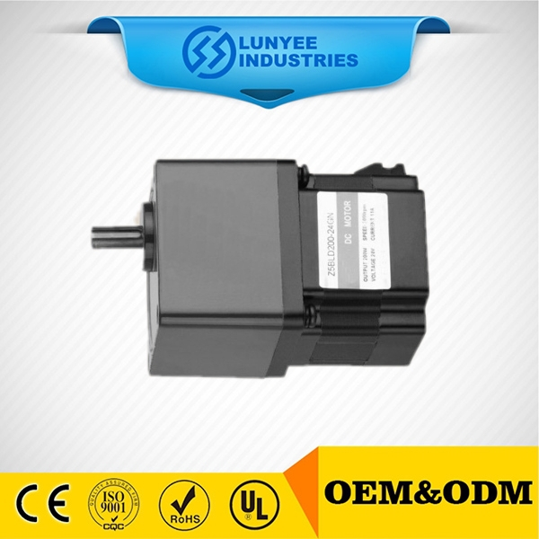 low voltage 60W 80mm BLDC geared motors