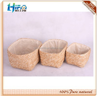 Small Wheat Straw Storage Basket