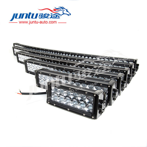 New 3D auto led light 12v, 50 inch 288W 4x4 Led Car Light, Curved Led Light bar Off road, auto led light arch bent for Jeep, SUV