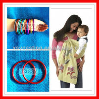 colorful ring sling carrier for newborns with safety certification