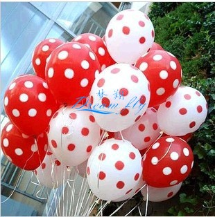 Customized 100% Natural Latex Balloons