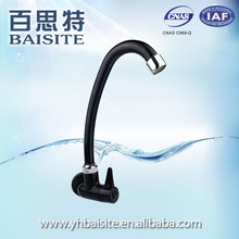 Vintage Style Cheap Black Single Handle Water Purifier Mixer Plastic Kithen Sink Water Faucet Taps