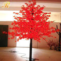 2014 artificial led red maple tree