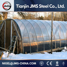 Pre-galvanized Pipe Agricultural Greenhouses Used