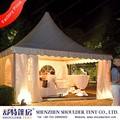 5x5m chinese style gazebo for AutoMobiles trade show