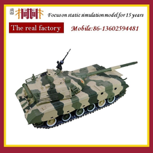 Die cast military tank car model research and development production custom