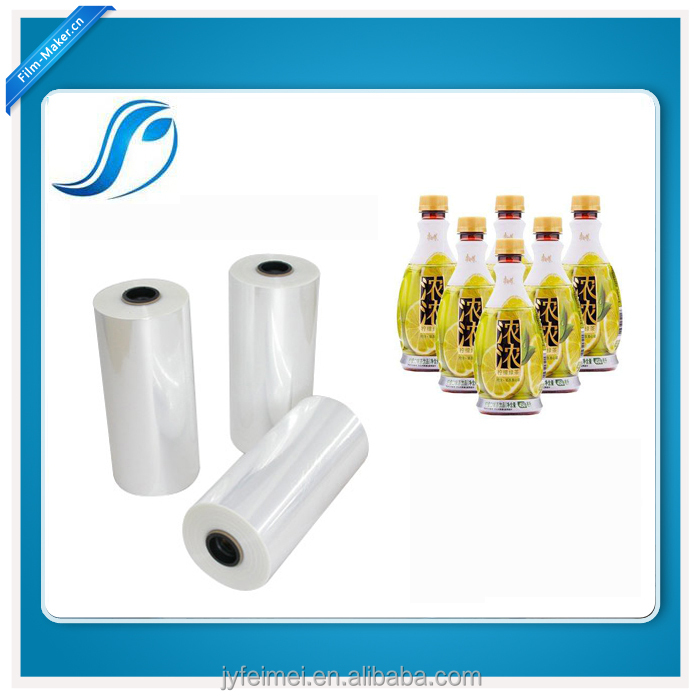 Shrink PET Transparent Film With Excellent Printability