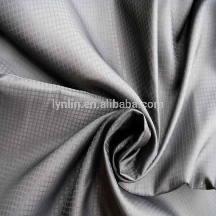 420T Good Quality 100 Nylon Ribstop Milky Coated Fabric