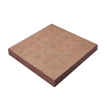 Qinsound professional Micro Holes wooden perforated acoustic panel in stock