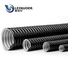 waterproof galvanized steel flexible conduit with cable wire insert