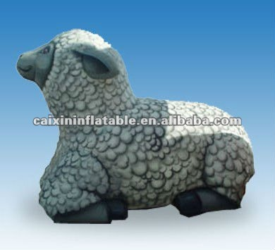 inflatable animal giant Sheep for new year advertising