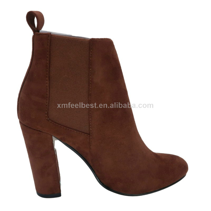 2018 wholesale new fashion micro suede warm ladies winter boots