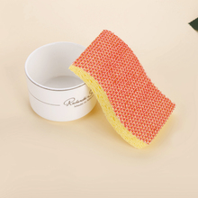 Free sample 24years factory kitchen cleaning sponge, Eco-friendly PP mesh Cellulose Cleaning Sponge