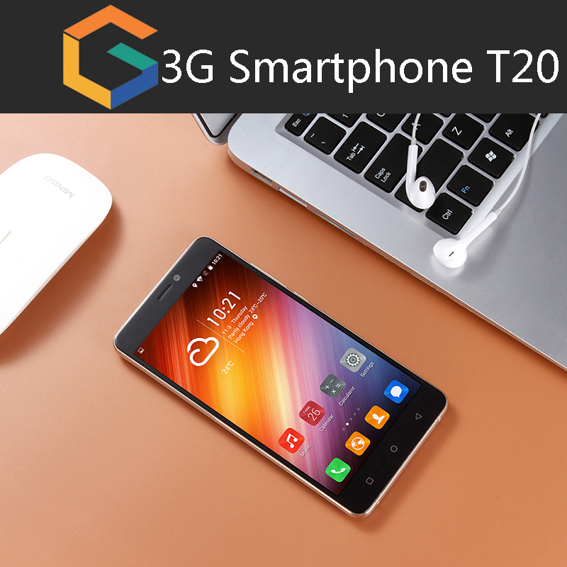 OEM Logo wholesale support inspect factory cheap smart phone T20 5.5'' / RAM1G + ROM16G/ Android 6.0 / Low Price Mobile Phone