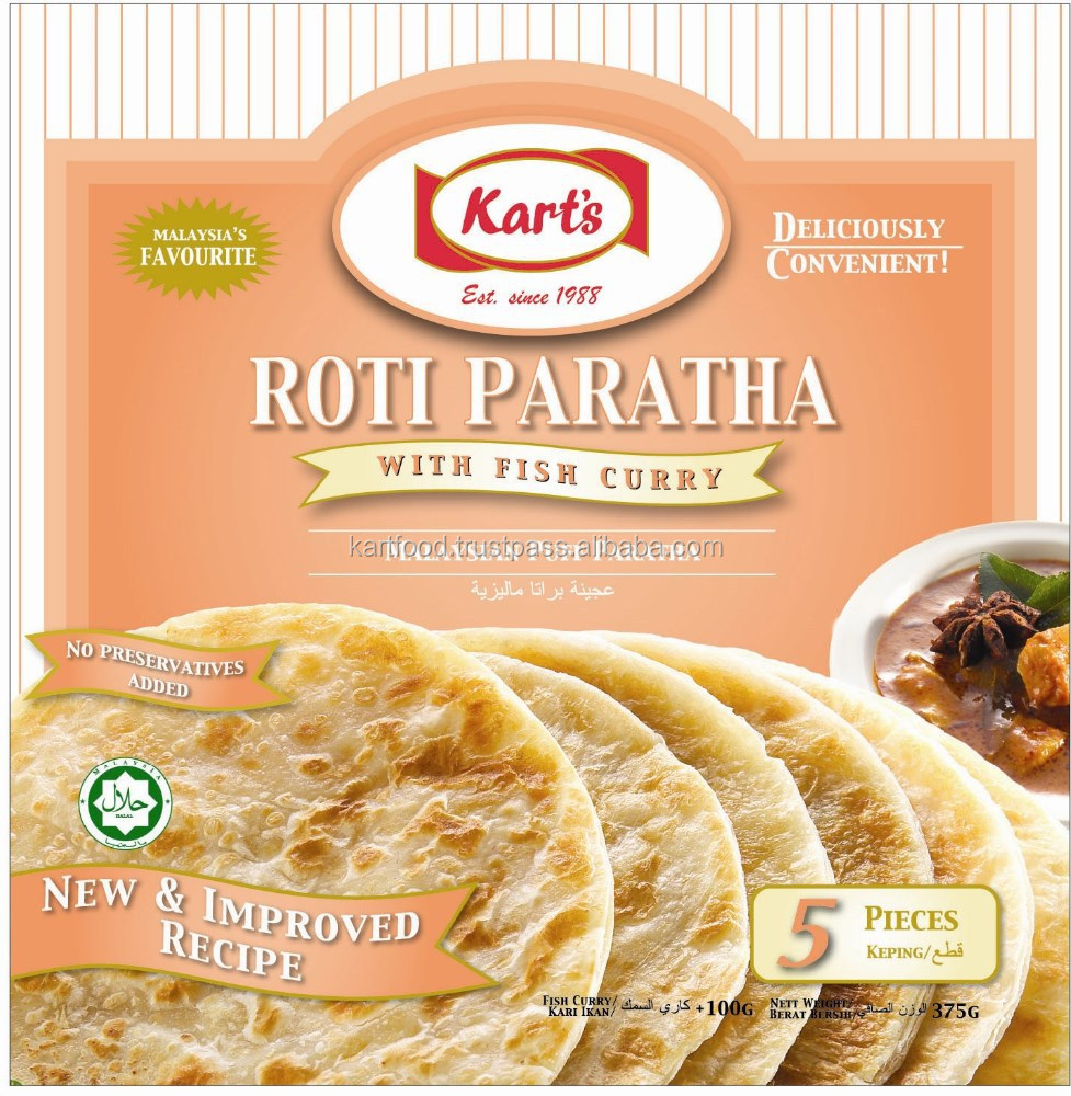 Kart's Roti Paratha With Fish Curry