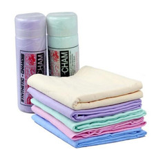 High Quality car wash magic PVA chamois/PVA shammy chamois cooling towel/quick dry microfiber sport towel