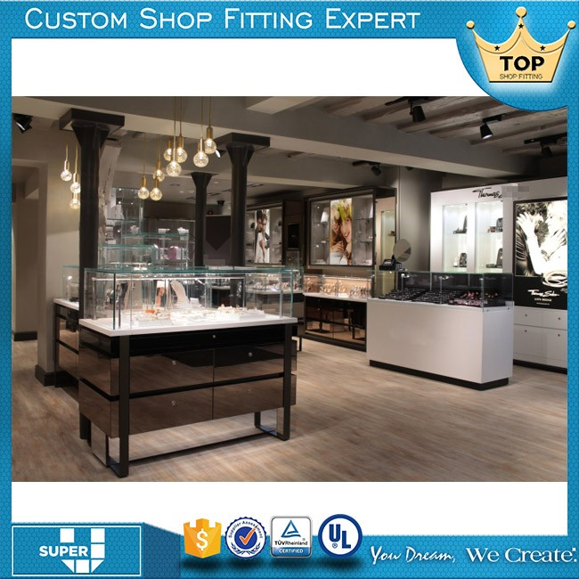 2016 New arrival factory price jewellery kiosk design modern