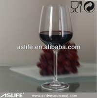 hot selling unique red wine glasses 388ml glass wine goblets names of wine glasses