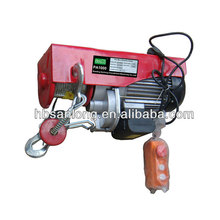 PA mini electric winch hoist with remote control
