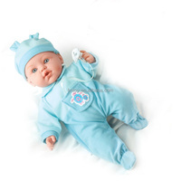 new 43 cm lovely talking 10 sound baby doll with cloth and cute hat