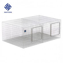Easy Clean rabbit cage used in poultry farm