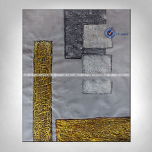 Simple Abstract Wall Art Handpainted Abstract Oil Painting With Texture
