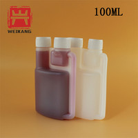 100ml Bottles With Twin Neck Measuring