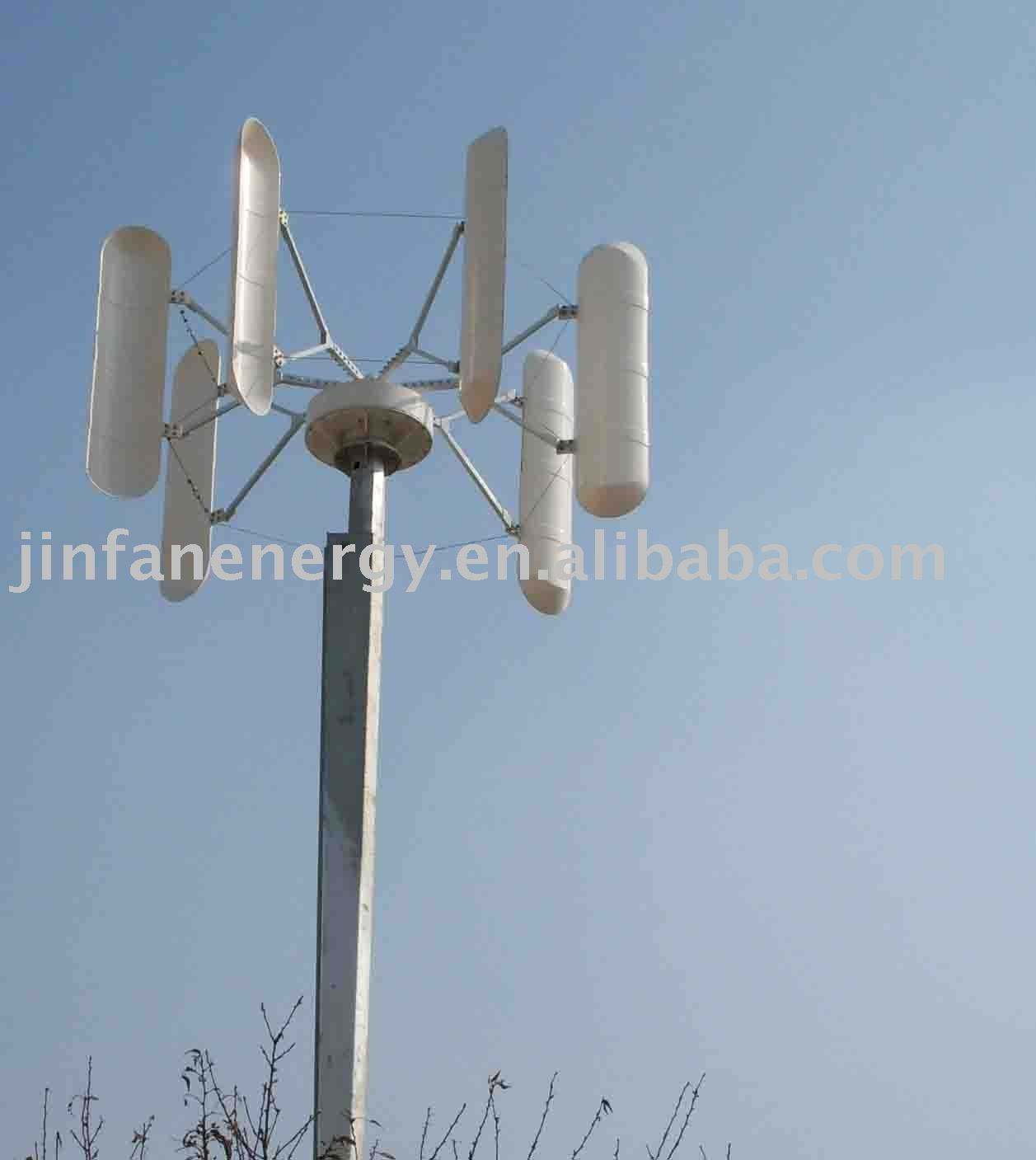 resistance blades vertical wind turbine energy your house JFVC-3kw