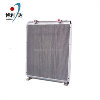 best selling aluminum plate fin heat exchanger for air compressor