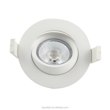 IP44 95Ra GYRO CCT Dimming LED Downlight 1800-2700k passed NEMKO for Nordic market