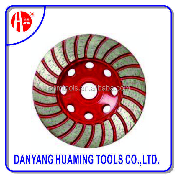 Newest Wholesale diamond cup wheels grinding heads for floor