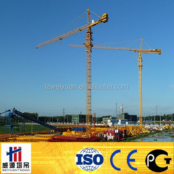 Tower crane spare parts,hammer-head tower crane