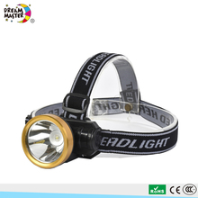 Rechargeable LED Headlight Mining Headlamp Flashlight for Outdoors