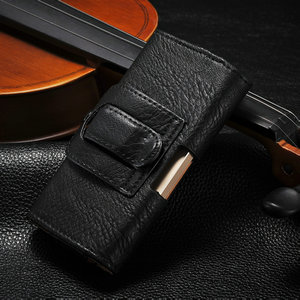 pu leather case for iphone5, case for iphone 5/5s, belt clip case for iphone 5