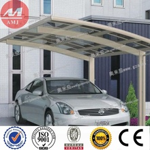 Customized outdoor metal shelter canopy carports for sale by recyclable polycarbonate sheets