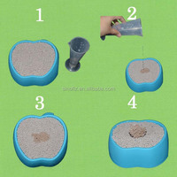 pet products exporters nature clay safe use compact clumps cat sand