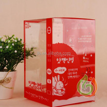 Top Quality Premium Color Printing Plastic PVC box Gift