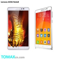 Original Lenovo A936 Note 8 6 inch HD Screen MTK6752 Octa Core 4G FDD LTE Android 4.4 OS 2G 8G 13MP Mobile Phone