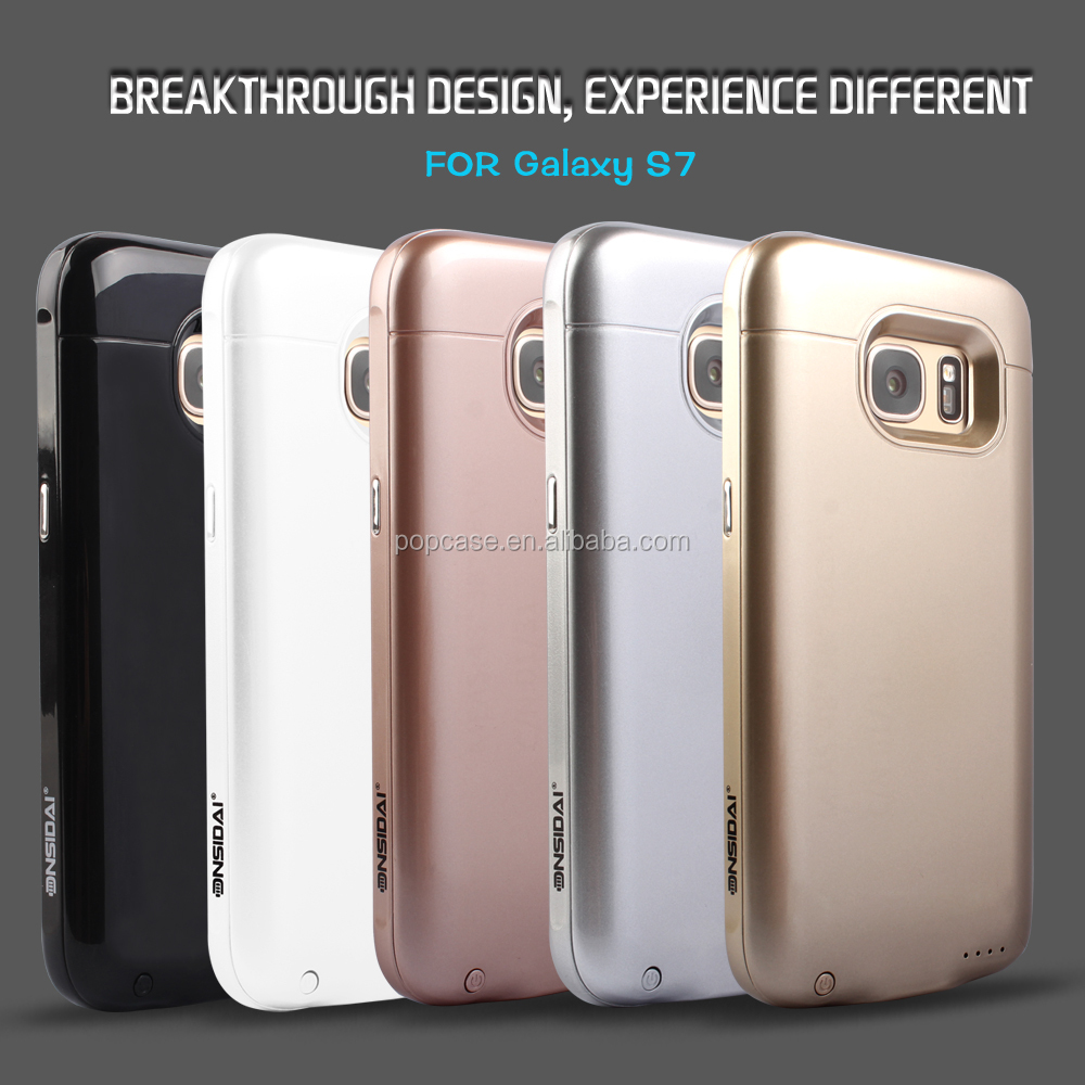 3000mah Power Bank Case for Samsung S7 Extended Battery Charger Mobile Cover