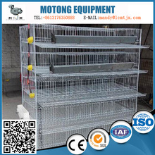 Used for breeding of quail high-quality stepwise quail cage