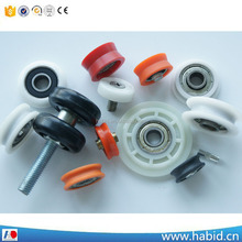 Small plastic pulley wheel with bearing for sliding door and window for sale plastic wheel pulley