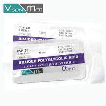absorbable and non absorbable veterinary surgical needles and sutures