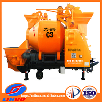 cslinuo C3 more efficiency automatic loading/unloading concrete mixer hydraulic pump machinery