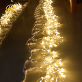Outdoor warm white LED curtain lights wholesale