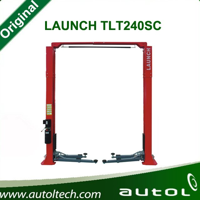 CE original LAUNCH TLT240SC used hydraulic 2 post car lift tire change for sale