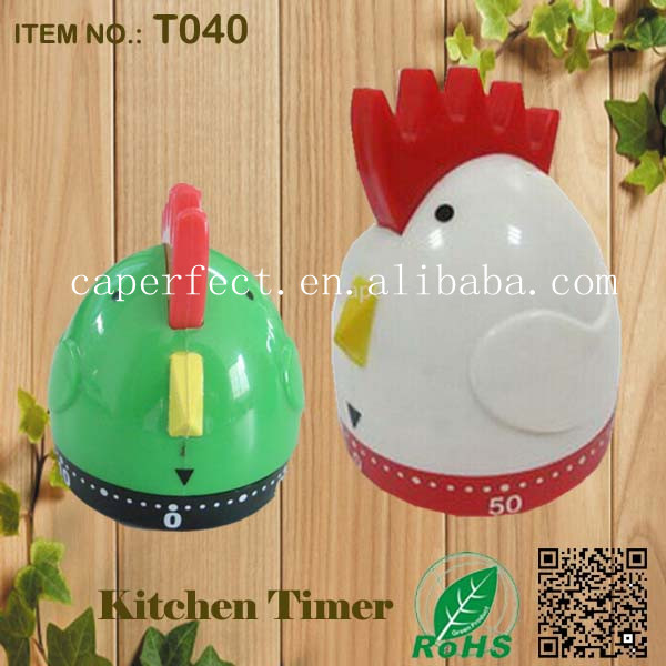 China wholesale 0-60minuts logo printing chicken cooking timer