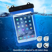 2018 PVC high-quality waterproof bag for Ipad/ Ipad mini/ Samsung tab